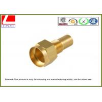 Quality High precision Lathe Turning Brass Machined Parts For motorcycle spare parts for sale