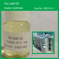Quality Farwell Natural Ho Leaf Oil 85% min, Kosher Certificate for sale