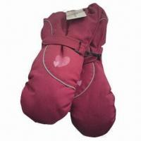 Quality Men's and Women's Winter Gloves, Made of Polyester or Nylon for sale