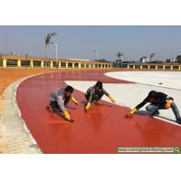 Quality School Construction Service Athletic Rubber Running Track Installation for sale