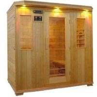 China Outdoor / Indoor Personal Sauna Steam Room Ceramic Heating Tube For 3 - 4 Person on sale