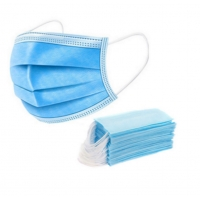 Quality Non Woven 3ply Earloop Protective Disposable Face Mask 18*9cm for sale