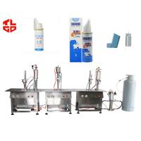 Quality Aerosol Nasal Spray Filling Machine , Salmeterol Inhaler Spray Filling Machine for sale