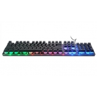 Quality Anti Ghosting 104 Caps Wired Gaming Keyboard 104 keys for sale