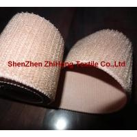 Quality Customized weave un-brushed/un-napped elastic Velcro hook and loop fastener band for sale