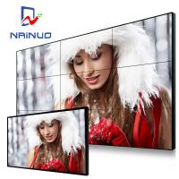 Customized Full Color LCD Video Wall Display 500 Nits High Brightness