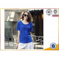 Quality 2017 New Fashion 100%Cotton Cheap Custom promotional top Women T shirt for sale