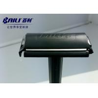 Quality Double Edge Disposable Razor Plastic Handle With One Click Convenience Design for sale