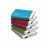 Quality 2500mAh Power Bank with Aluminum Housing and LED Flashlight, for iPhone 4/4S/3GS/3G/iPod/Samsung/HTC for sale