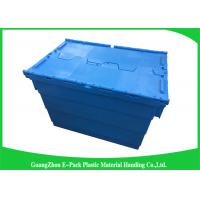 Quality 60*40*41.2cm Plastic Storage Attach Lid Containers Assorted Height for sale