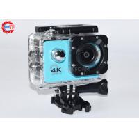 Quality Blue Full HD Sport Camera Waterproof 4k for sale