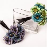 China Artificial Flower Bouquet, Silk Daisy Bush on sale