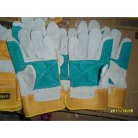 China Cow leather working Glove,Pig leather working Glove,Furniture leather working Glove,Driver Glove,Welding Glove on sale