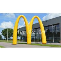 Quality new design advertising inflatable event arch display,custom letter M inflatable archway for promotion for sale