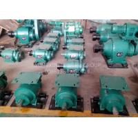 China 90 Degree Reduction Gearbox Worm Gear Reduction Gearbox Three Circle Type on sale