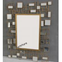 Quality Unique Design Mirror Art Wall Decor , Rectangle Modern Mirrored Wall Art for sale