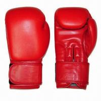 Quality Pro Style Boxing Gloves, Made of Genuine Cow Hide Leather with Machine Latex Mould for sale