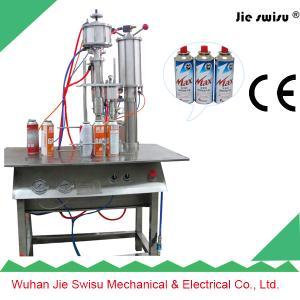 China Butane Gas Cartridge Filling Machine on sale