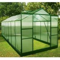Quality Green color of transparent greenhouse HX75114G for sale