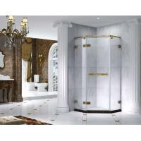 Buy Semi Frameless Rectangle Shower Enclosure With Pivot Door, AB 6231-2 at wholesale prices