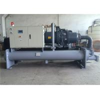 Acid/Sulfuric/ Aluminum Anodized Electroplating Water Cooled Chiller With Titanium Tube