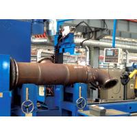 Quality Tube Flange MIG / MAG / CO₂ Automated Welding Machines For Tube Intersection Line for sale