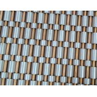 Quality Elevator Decorative mesh, Elevator wall cladding mesh, Channel woven elevator wire mesh for sale