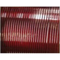 Quality Flat Enamelled Copper Winding Wire Single Sided Self - Adhesive For Transformers for sale