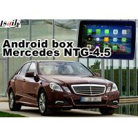 Quality Mercedes benz E class Automobile GPS Navigation Systems video interface for sale