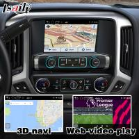 Buy Android 6.0 navigation box for Chevrolet Silverado video interface with rearview WiFi video mirror link at wholesale prices