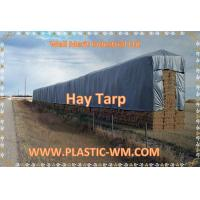 Buy Custom Heavy Duty  Hay Tarp  Hay Tarpaulin Hay Cover Tarpaulin Hay Bale Tarp at wholesale prices