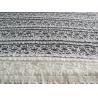 Cheap Eco-Friendly Stretch Lace Cotton Spandex Fabric , Beige Elastic Lace Trim CY-LW0220 wholesale