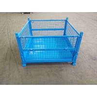 Quality Transportation Collapsible Pallet Bins / Folding Pallet Container High Performance for sale