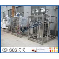 Quality 2TPH-20TPH  Plate heat exchanger and cooler with large gap for pasteurized milk/Yogurt /fermentated drink for sale