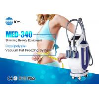 Buy cheap 2017 KES 2 handles cryotherapy fat freezing device for weight loss machine MED-340 rapidly slimming machine product