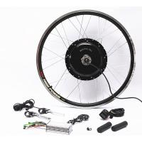 Quality 48v 1000w Electric Mountain Bike Conversion Kit Front Or Rear Wheel With Disc Brakes for sale