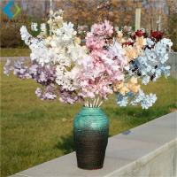 Peanut Leaf Artificial Flower Bouquet Plastic Material For Wedding Scene Setting for sale