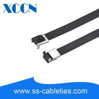 China 20 Inch L Type Stainless Steel Cable Ties Heavy Duty Convienient Mounts on sale