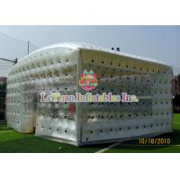 Buy cheap Closed Airtight Tent / Inflatable Cube Tent Flexible To Move Environmental Protection product