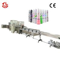 Buy cheap Auto Aerosol Can Filling Equipment For Body Spray , Deodorant Spray product