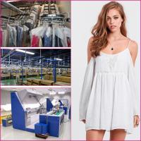 Quality 2015 new design China women dress factory product White off-shoulder Bohemian Dress for sale