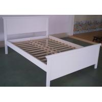 Quality Simple Personalized Pretty Wood Frame Bed Solid Wood Daybed For Girls 192 * 137cm for sale