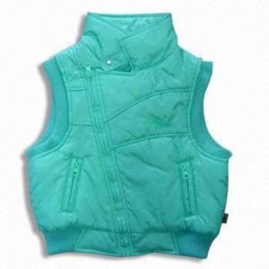 Quality Sleeveless Jacket with Padding, Made of Nylon for sale