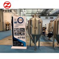 China SS304 / 316 / Copper Cone Bottom Fermenter PU Foam With CIP Cleaning System on sale