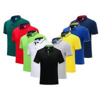 China Anti Wrinkle Polo Golf T Shirt Plain Polo T Shirts Compressed Uni Sex Daily Wearing on sale