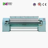 Quality 5.5kw Single Color Computerized Quilting And Embroidery Machine For Home Textile for sale