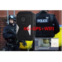 Buy cheap Full HD 1440P 4G Body Camera IP67 waterproof camera law enforcement camera product