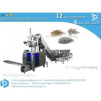 China How to pack hardware ,screws,bolts ,nuts into pouch packing machine on sale