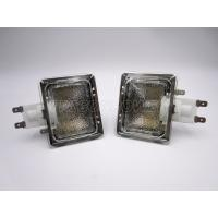 Square Style E14 Oven Lamp Assembly , Concise Full Frosted Oven Bulb Holder