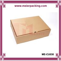 Quality Simple corrugated printed paper packaging box for shoe/clothing/hat ME-CU030 for sale
